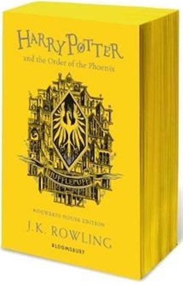 Harry Potter and the Order of the Phoenix Hufflepuff - J.K. Rowling