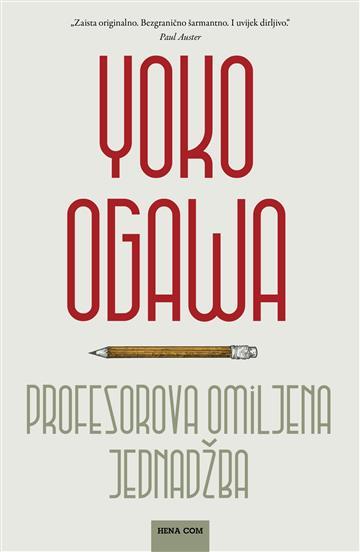 Profesorova omiljena jednadžba - Yoko Ogawa
