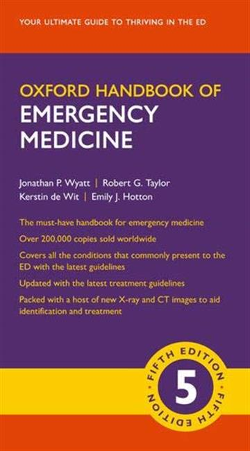 Oxford Handbook of Emergency Medicine 5E - Jonathan P. Wyatt