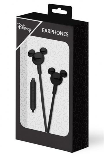 Slušalice Mickey Mouse 3D crne -
