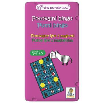 Putna igra Putni bingo - SingaGames