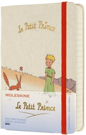 Moleskine Limited Edition Petit Prince 2021  Daily Pocket Diary: Fox - Moleskine
