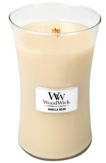 Svijeća WoodWick Large Vanilla Bean - WoodWick