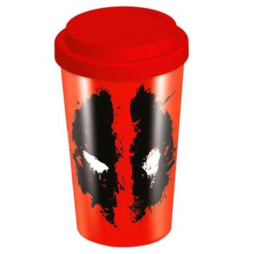 Deadpool Splat Travel Mug - Pyramid