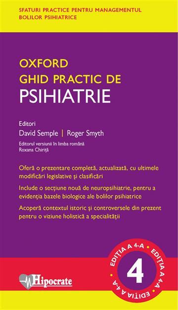 Oxford Handbook of Psychiatry 4E - David Semple,  Roger Smyth